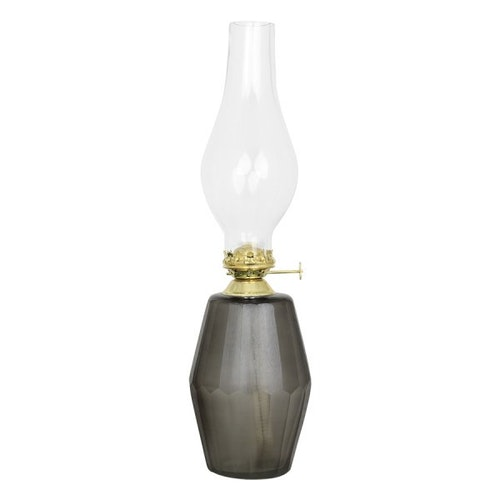 Kerosene Lamp Ebba Small Grey