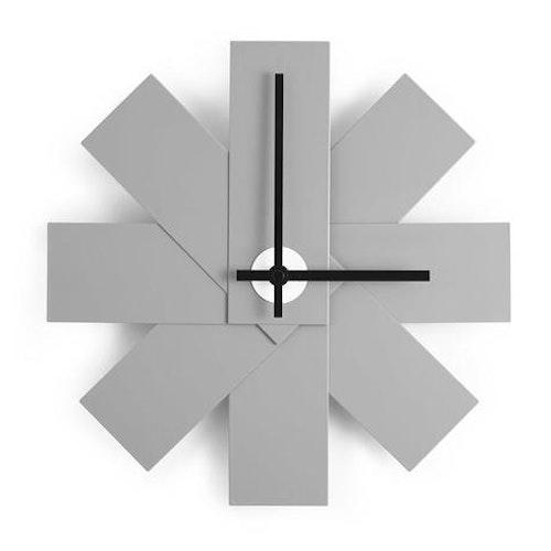 Watch Me Wall Clock Grey