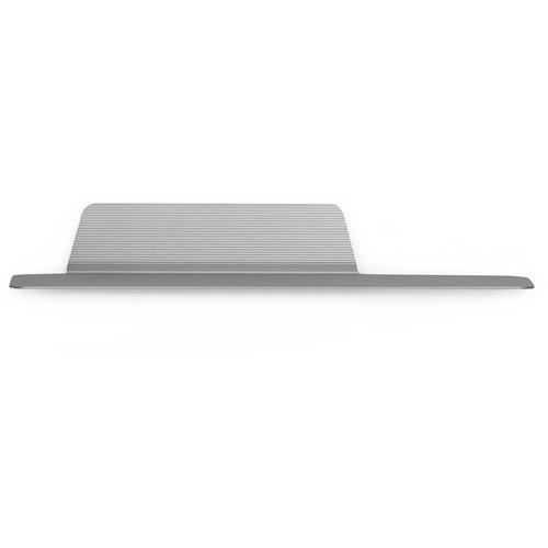 Jet Shelf 80 cm Silver