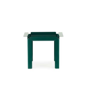 Box Table 33 x 48 cm Blue Green