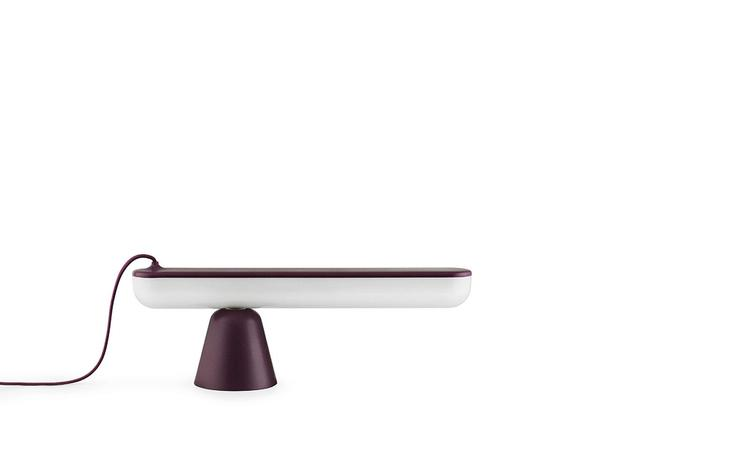 Acrobat Table Lamp EU Aubergine