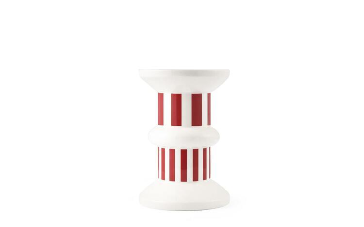 Funfair Vase Ø 15 x H 22 cm Lollipop Red