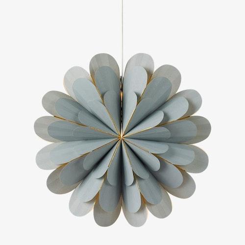 MARIGOLD  Light Grey Pendant Poinsettia