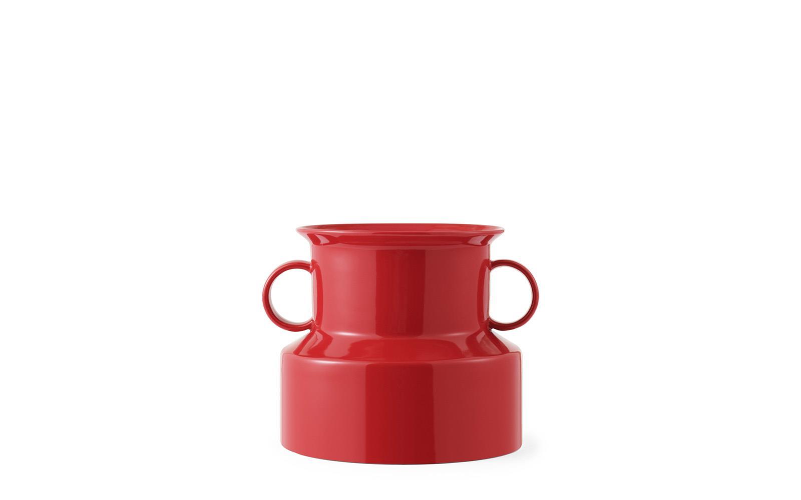 Tivoli Panto Vase Ø 22 x H 19cm Lollipop Red