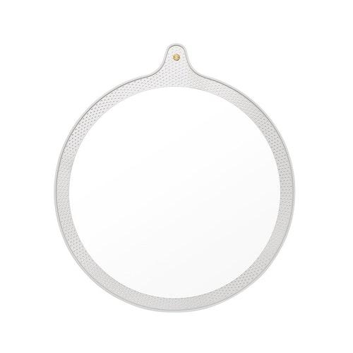 Ticket Mirror Small Ø 45 cm Faded Celadon