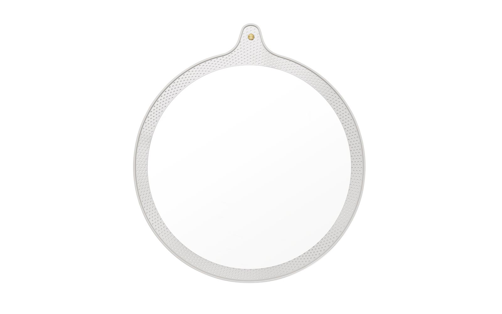 Ticket Mirror Large Ø 60 cm Faded Celadon