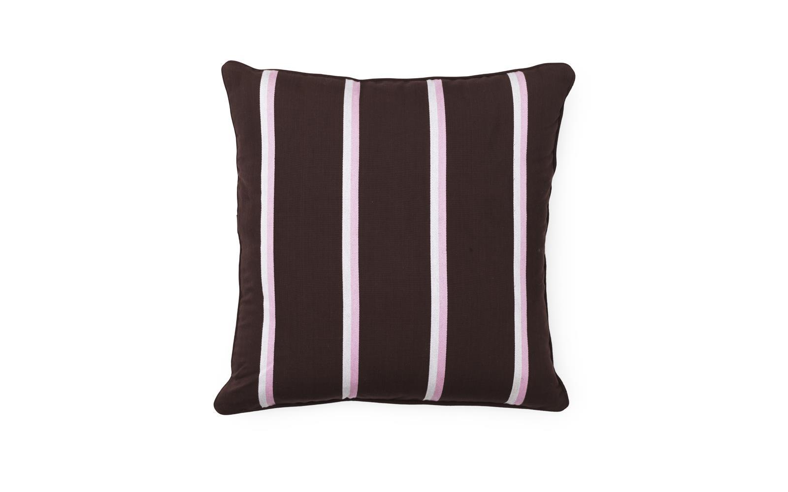 Cushion Trifle Stripe 50 x 50 cm Parterre Brown