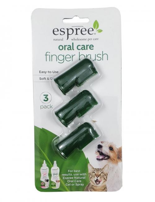 Espree Fingerbrusches 3-pack