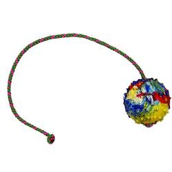 Gappay Boll massivt gummi med rep