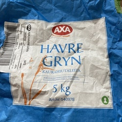 Babykattsand Havregryn Axa 5kg