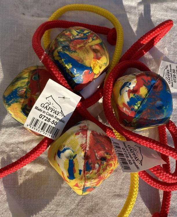 Gappay Kub gummi med rep 4,5 cm