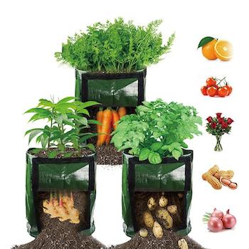 Odlingspåsar för balkong eller trädgård