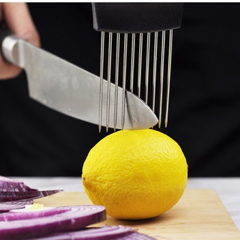 Aldrig varit enklare att skära grönsaker