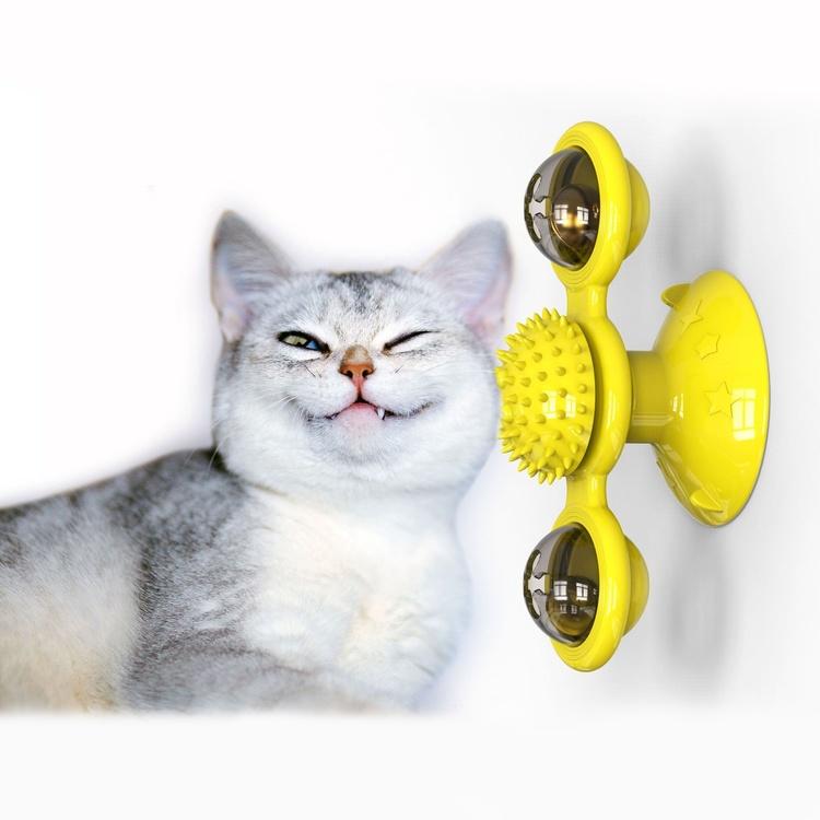 Kattleksak - Spinner - Underhåller katten i timmar