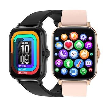 Smartwatch klocka - Mäter dina steg, sömn, kaloriförbrukning, blodtryck och puls