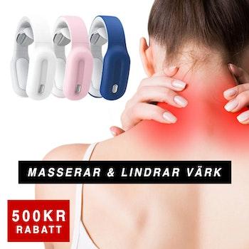 Trådlös nackmassage - Slipp nackont, stress och huvudvärk
