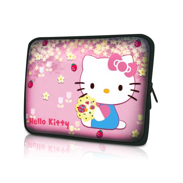 Datorfodral-Hello Kitty Jordgubbe