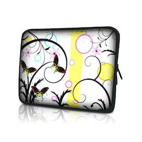 Datorfodral - Färgglada fjärilar