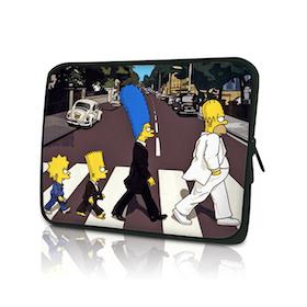 Datorfodral Simpsons Familj