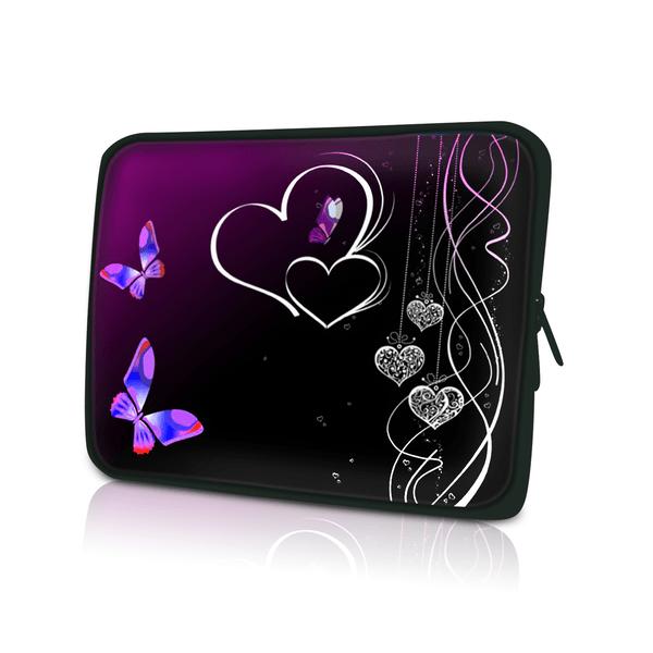 Datorfodral Fjärilar & Hjärtan