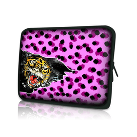 Datorfodral - Rosa Leopard