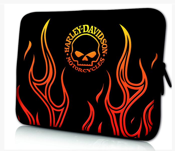 Datorfodral - Harley Davidson fire