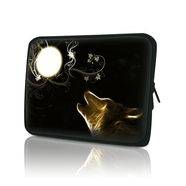 Datorfodral - Golden wolf moon