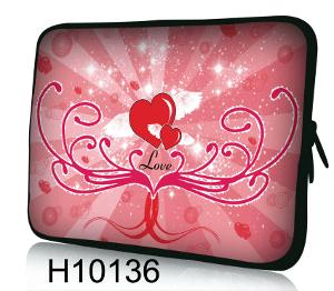 Datorfodral- Spirande Hjärta