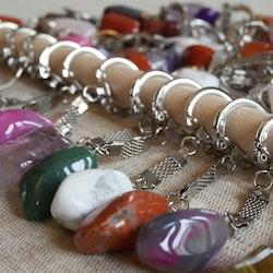 Nyckelring med sten