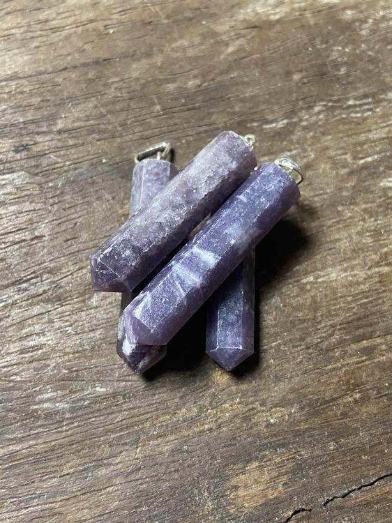 Hänge Lepidolit (spets)