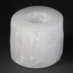 Ljuslykta Selenit Cylinder 8 cm
