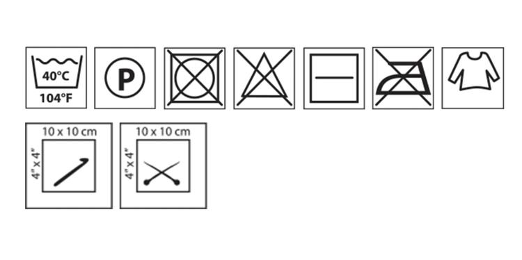 Makramégarn Vit 3 mm