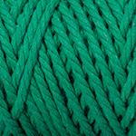 Makramégarn Grön 3 mm