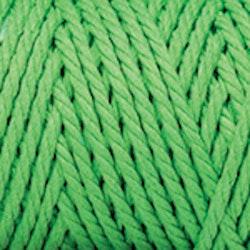 Makramégarn Klargrön  3 mm