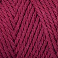 Makramégarn Vinröd 3 mm