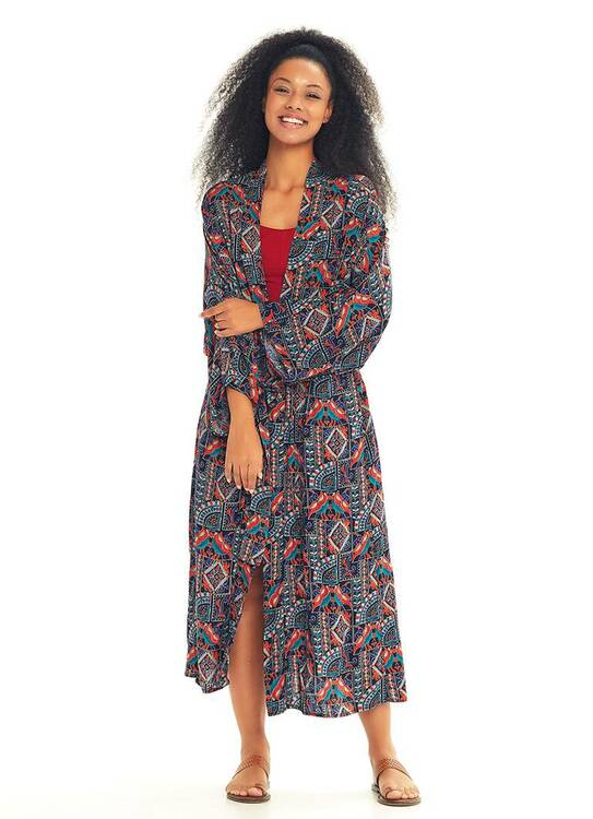 Kimono, Khaki Stella