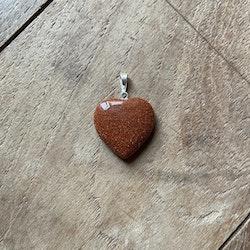 Hänge Guldfluss (Hjärta)