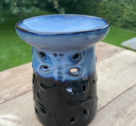 Aromalampa Trollslända - Blå/Svart
