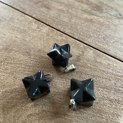 Hänge Obsidian (Åttauddig Stjärna)
