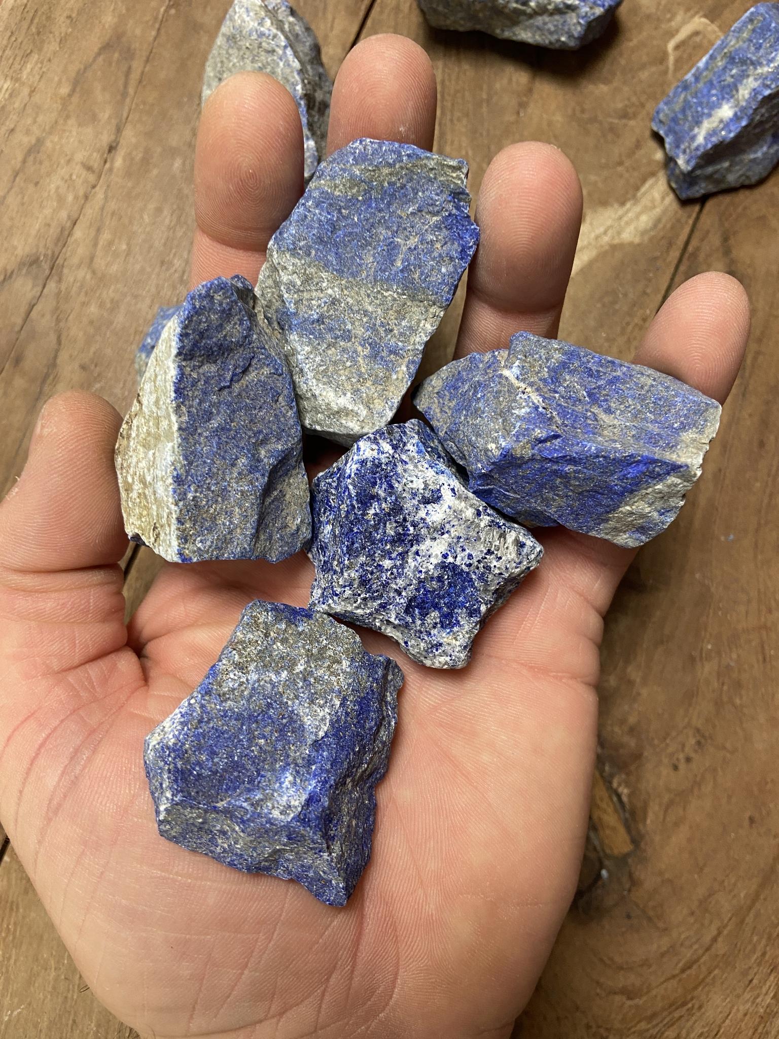 Lapis Lazuli Rå
