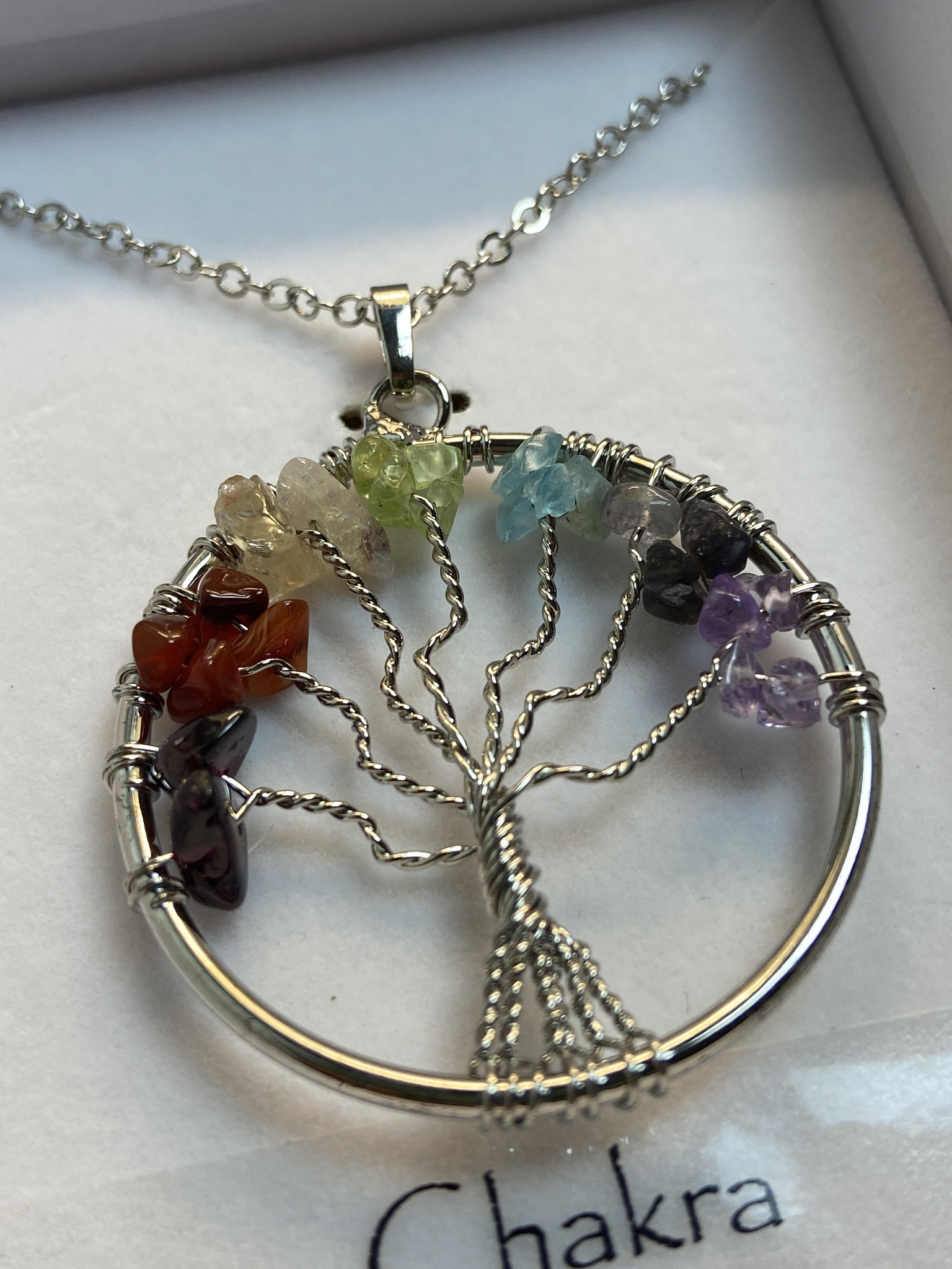 Halsband Livets Träd (Chakra)