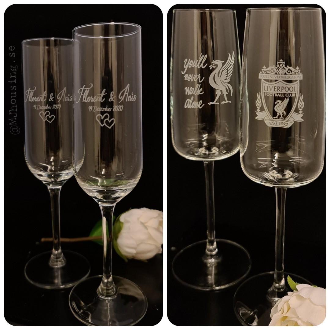Champagneglas - MJhousing.se