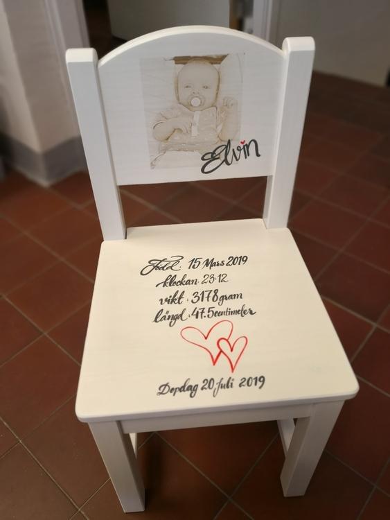 Barnstol med Foto