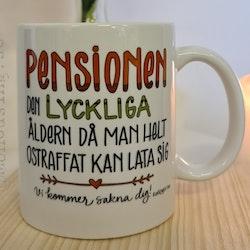Mugg Pensionen