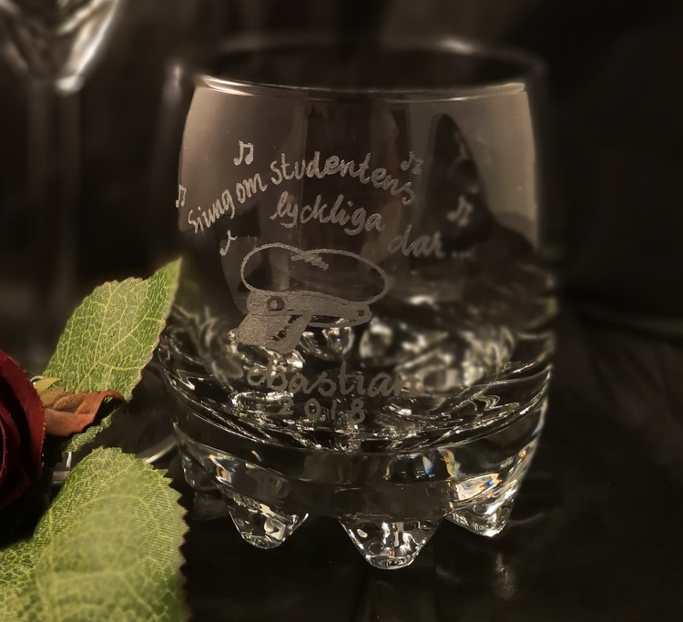 Whiskyglas Student & Examen
