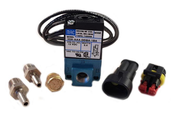 MAC magnetventil Laddtrycksstyrning