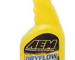 Rengöringsspray för AEM dryflow luftfilter