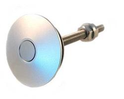 Hurricane - Push-Clips snabblås 60mm silver