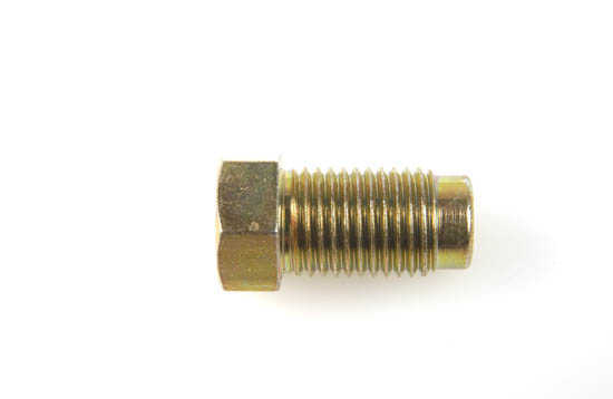"""3/8x24UNF Bromsrörsnippel 21mm 3/16"""""""