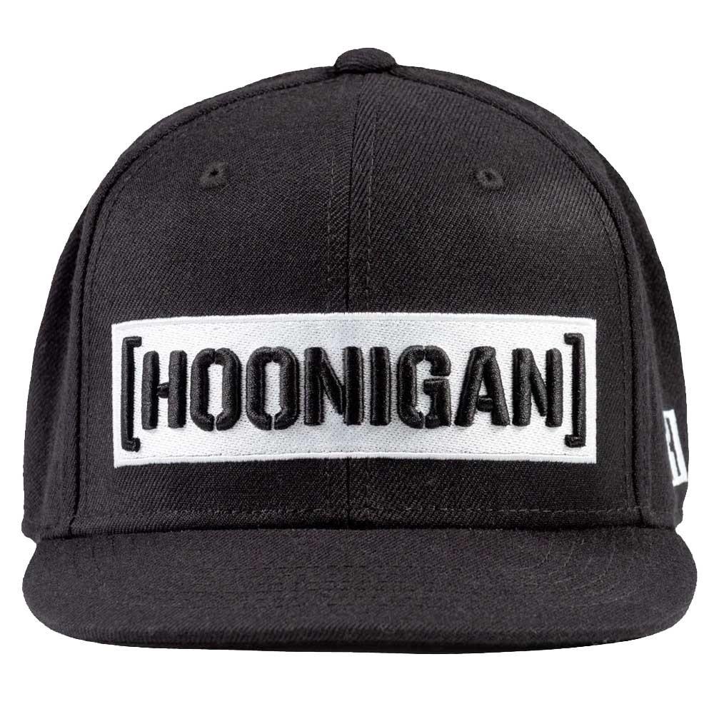 Hoonigan Censor Bar Black Snapback Cap